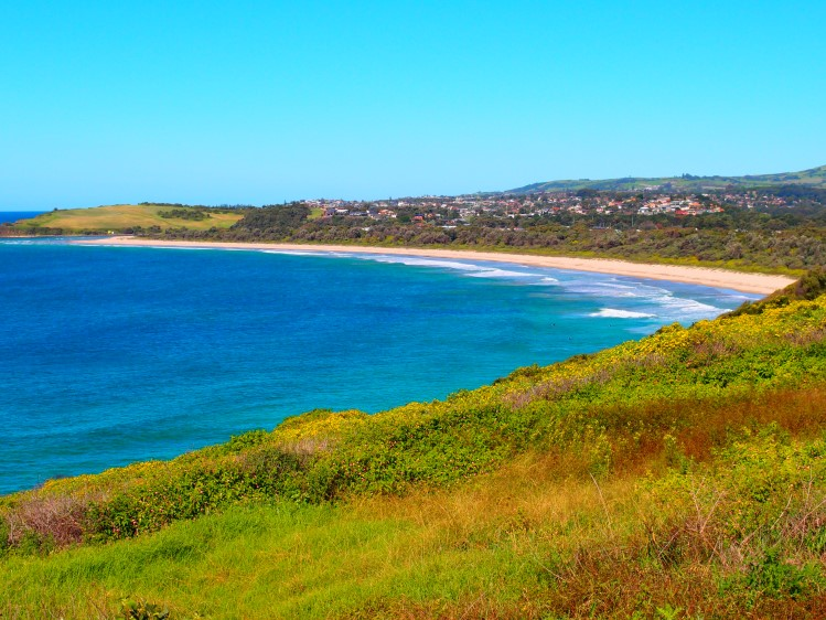 From Killalea Beach to Mystics Beach