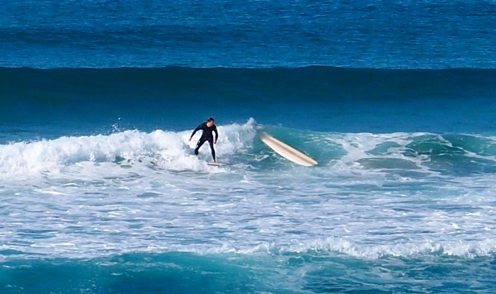 Killalea Beach Surfer Stacked It