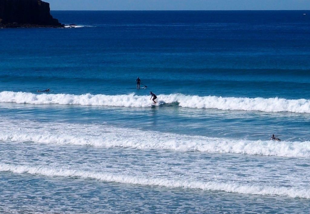 Killalea Beach Surfing