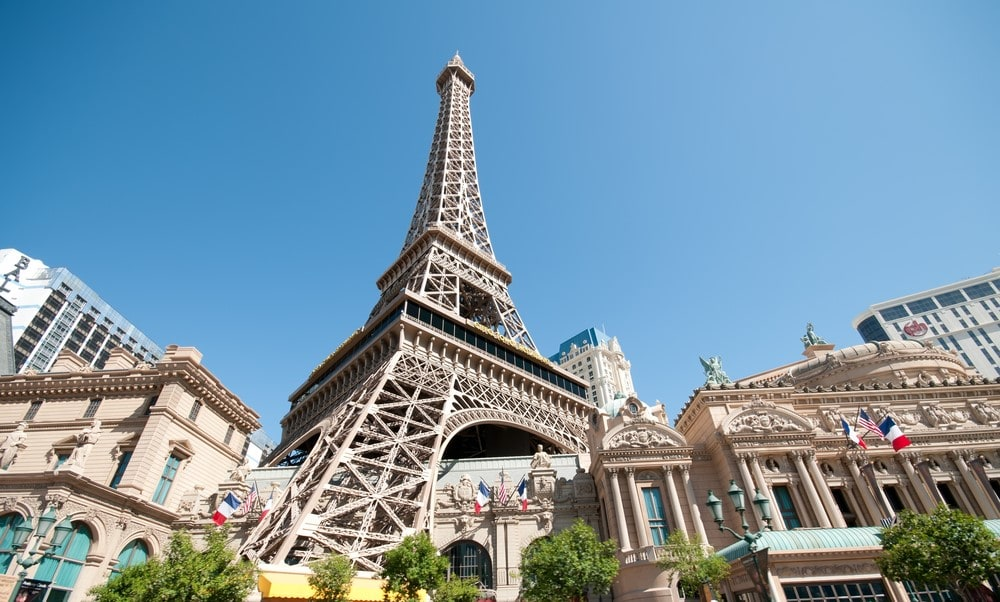 Climb to the top of the Eiffel Tower