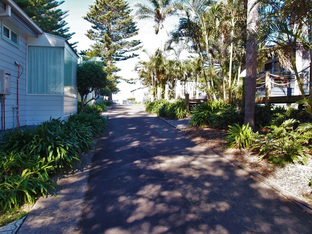 Photo from inside Surf Beach Holiday Park in Kiama Surf Beach very peaceful