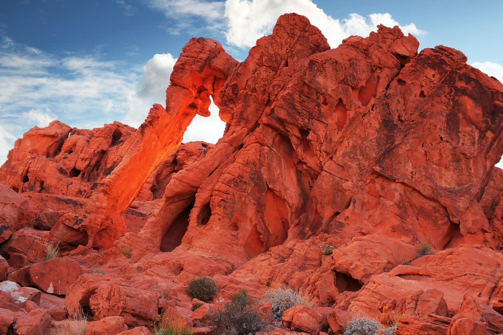 Rappel the Valley of Fire