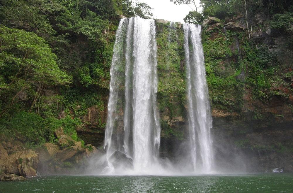 Misol-Ha Waterfall Chiapas Mexico