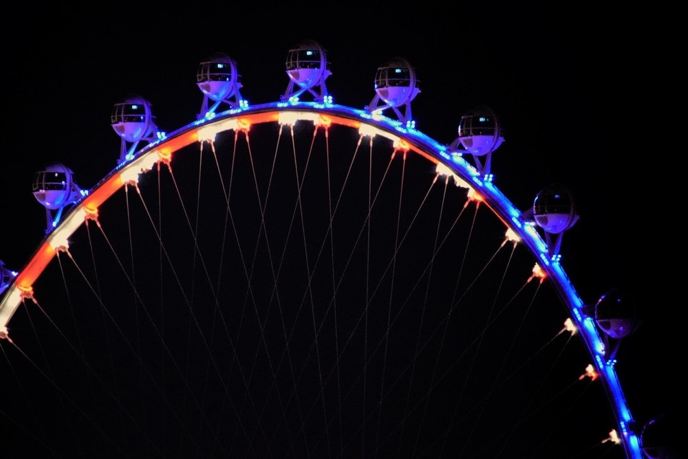 Ride the High Roller