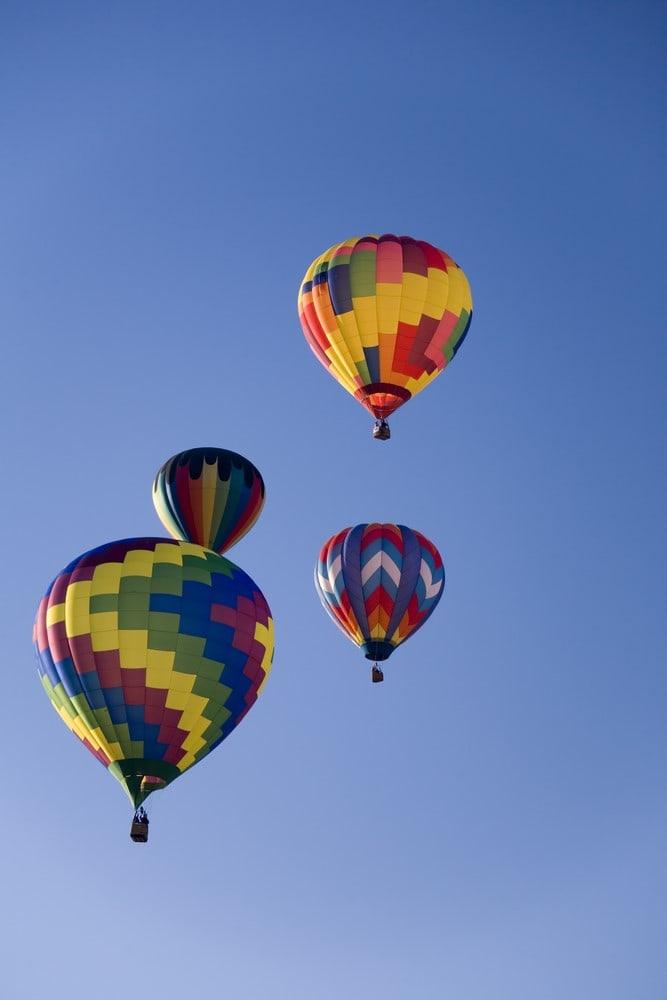 Hop Aboard a Hot Air Balloon