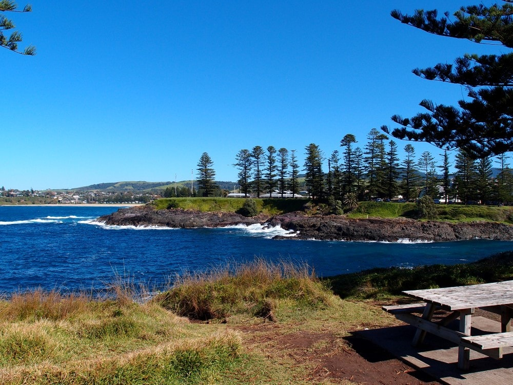 Kiama Blowhole stunning views as you walk up