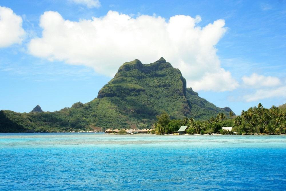 Bora Bora facts Volcanic eruption