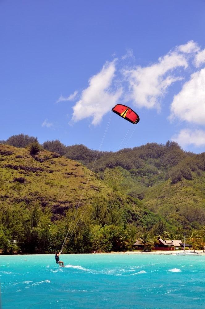 What to do in Bora Bora Kitesurfing