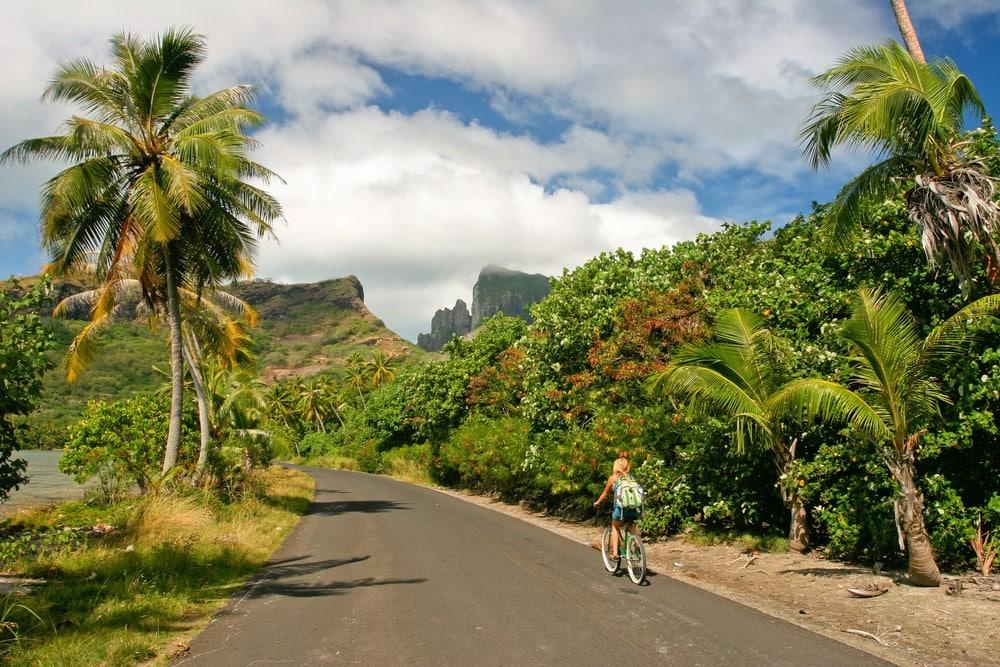 Bora Bora on a budget See the island by bike