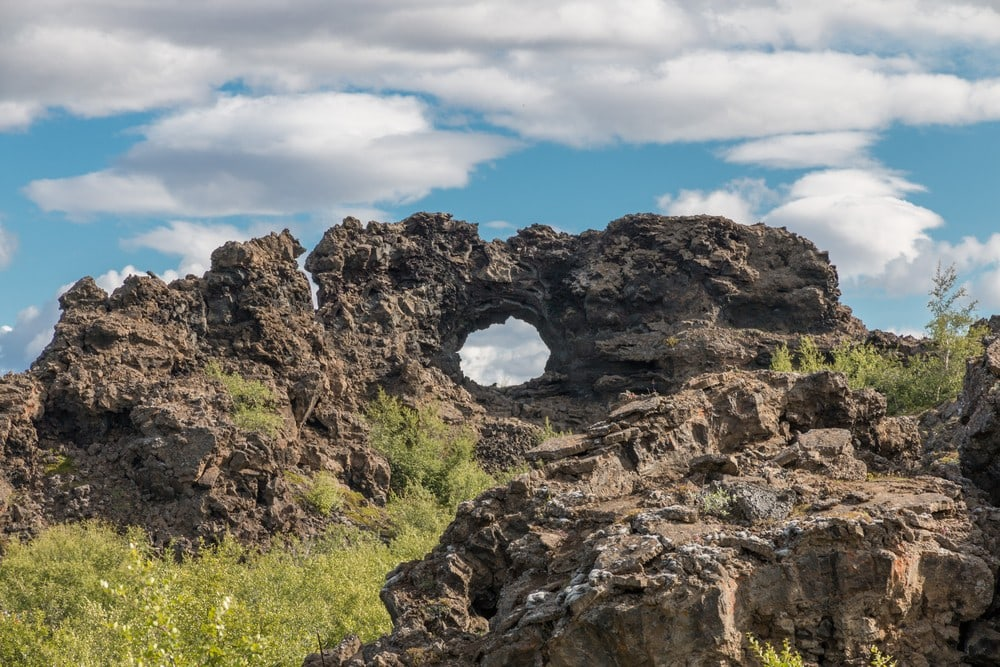 When is the Best Time to Visit Iceland - Dimmuborgir