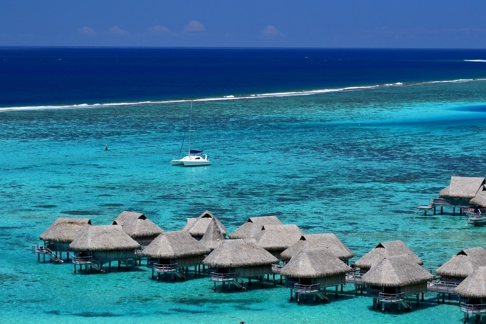 How to get to Bora Bora A scenic view