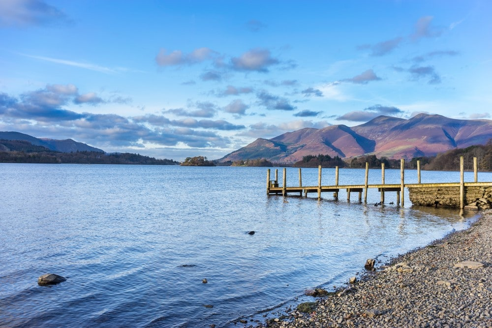 The most romantic places The Lake District in England, UK