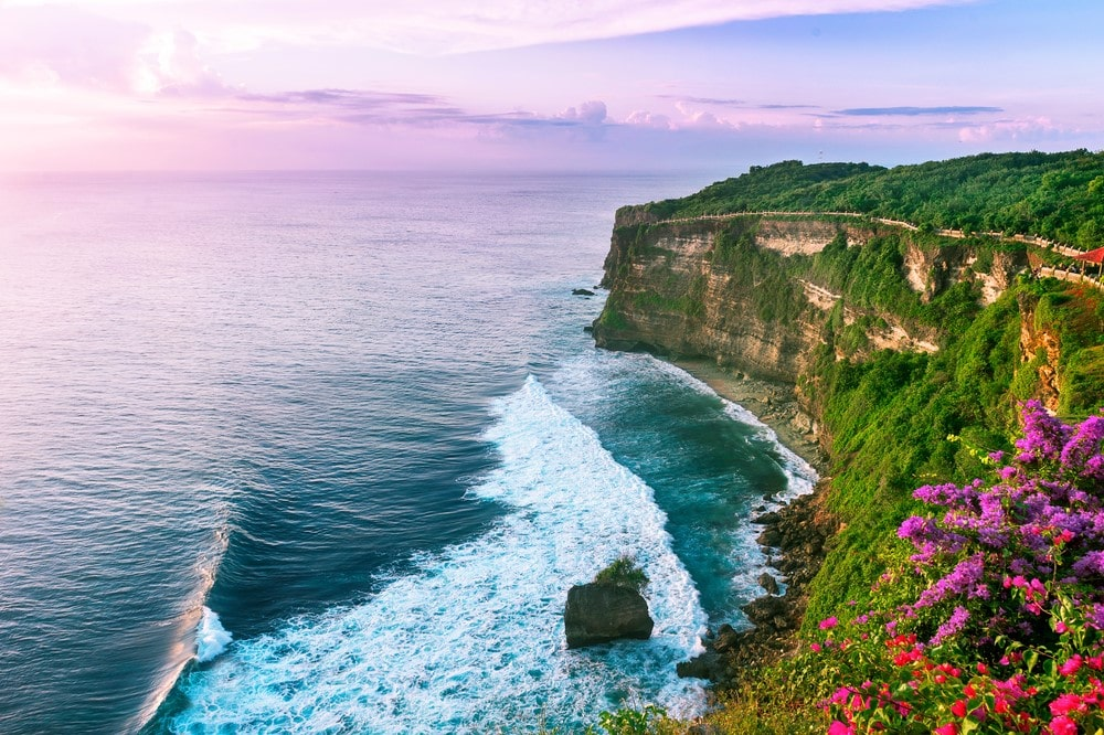 Most romantic places The beaches in Bali, Indonesia