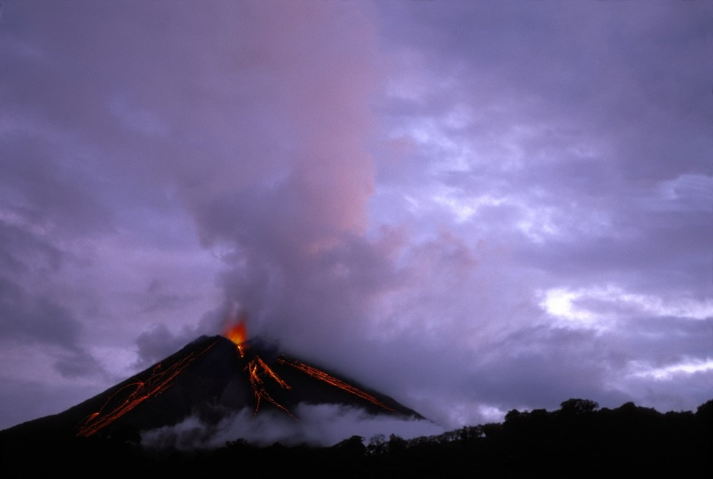 Mind-blowing volcanoes Arenal Volcano, Costa Rica