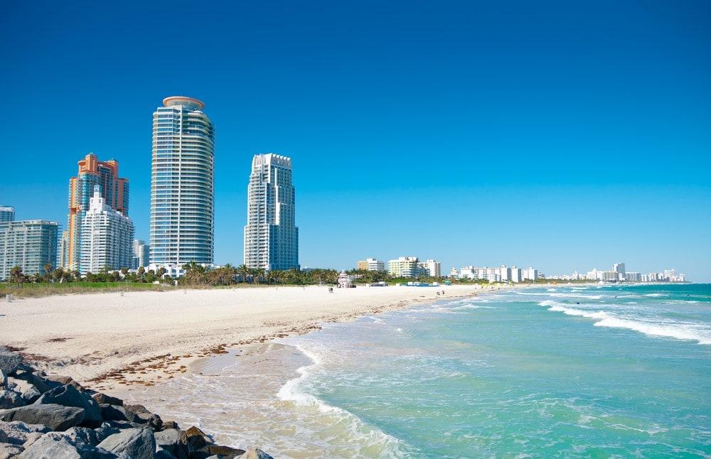 Summer destinations Miami