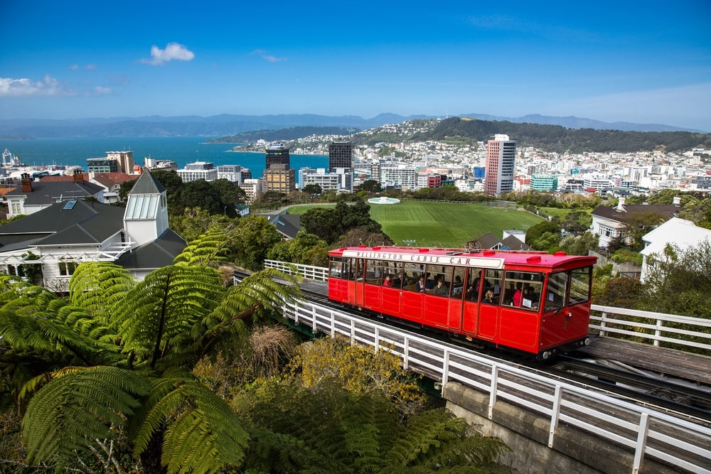 Most romantic places Wellington, New Zealand
