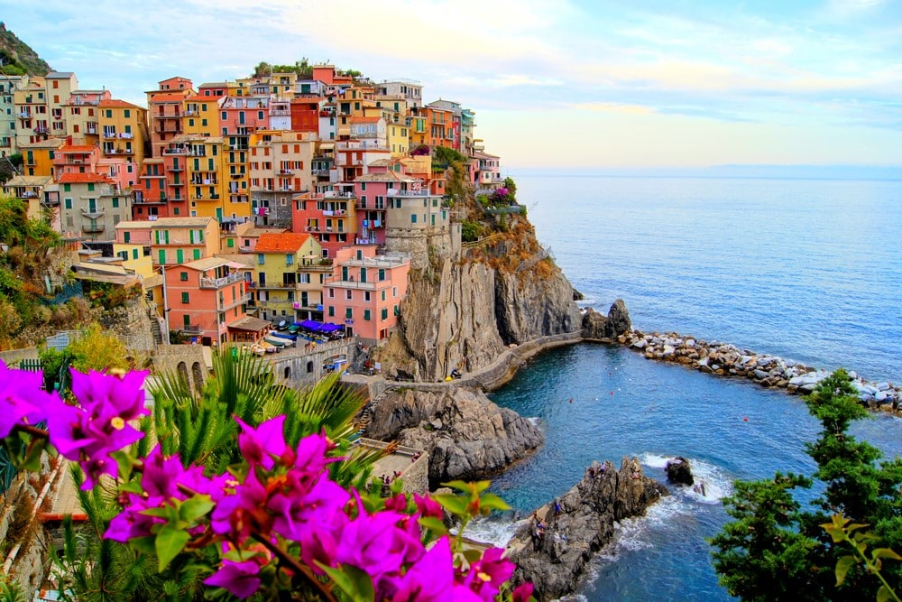 Most romantic places The colorful Italian Riviera