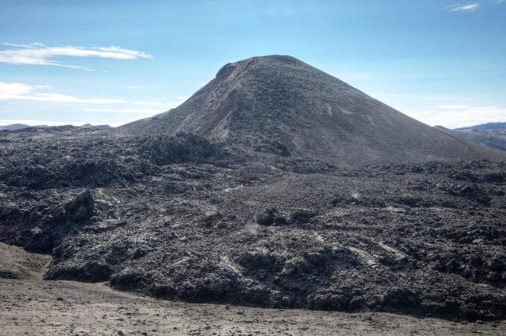 Mind-blowing volcanoes Eyjafjallajökull, Iceland