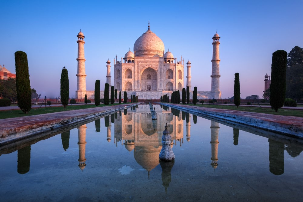 Most romantic places Taj Mahal, India