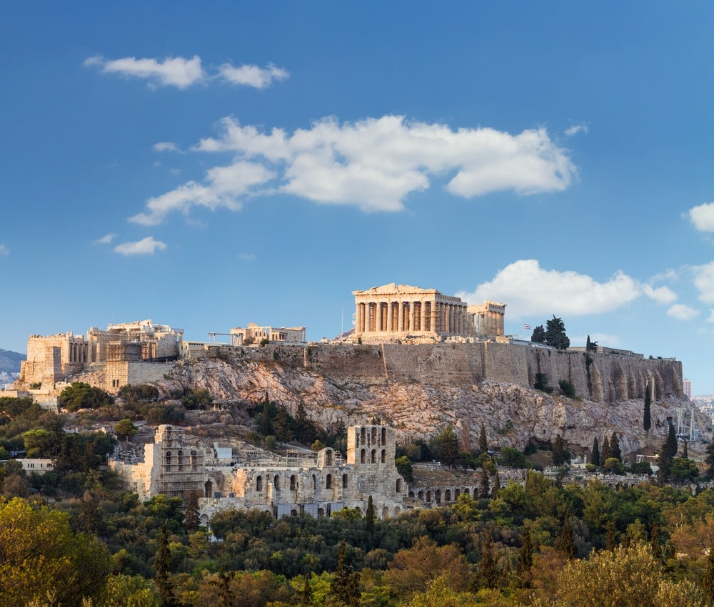 15 Must-See Places In Greece - Acropolis in Athens