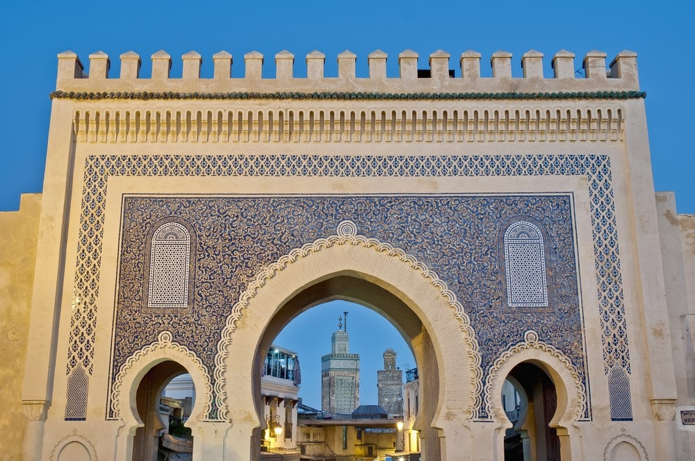 Most romantic places The medieval streets of Fez, Morocco