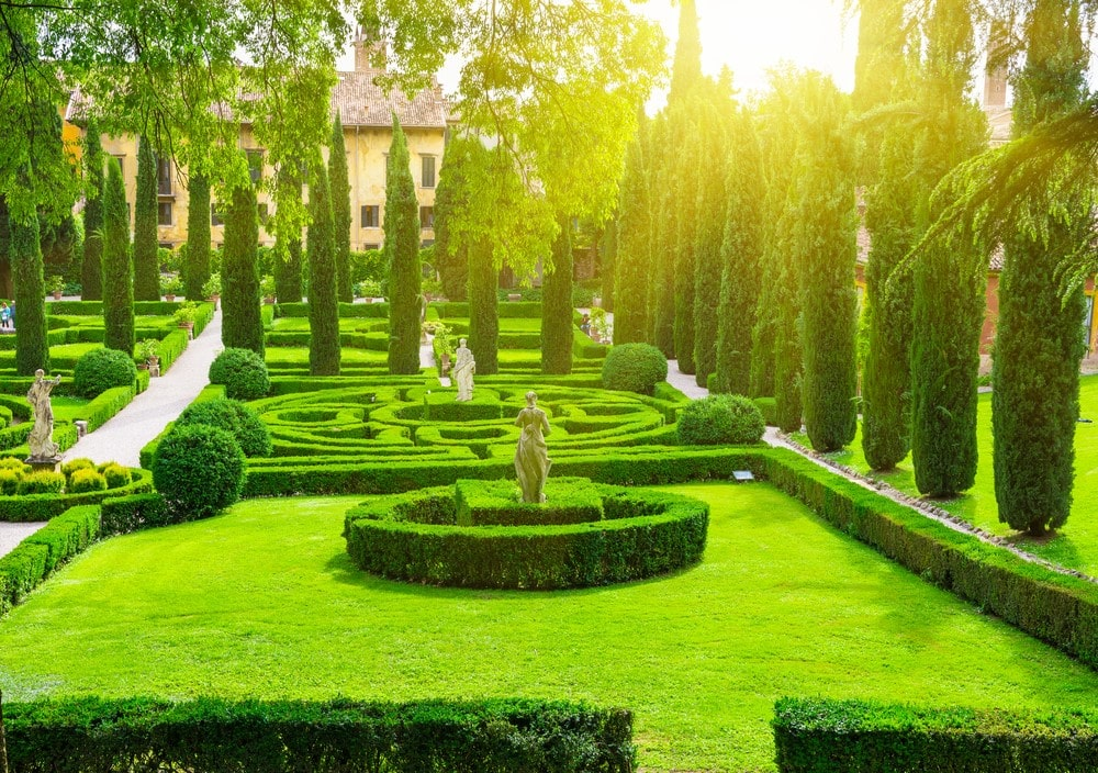 Things you should do in Italy Admire the Giusti Garden in Verona