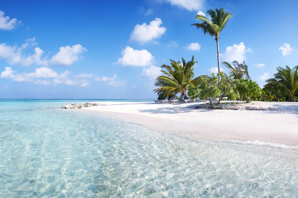 The Maldives on a budget Beaches for tourists