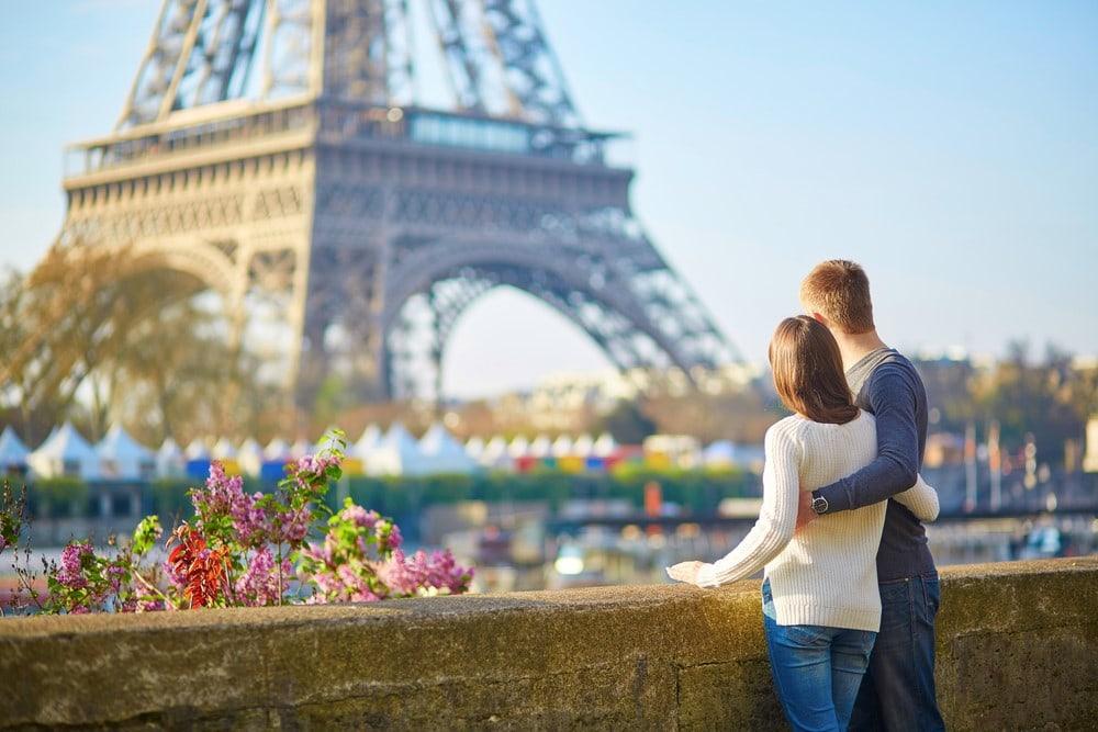 The most romantic places Paris, France