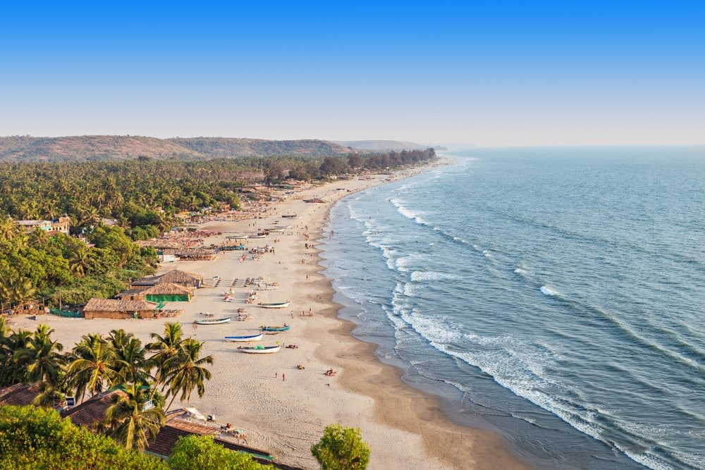 Things to do in India Relax on the beaches in Goa
