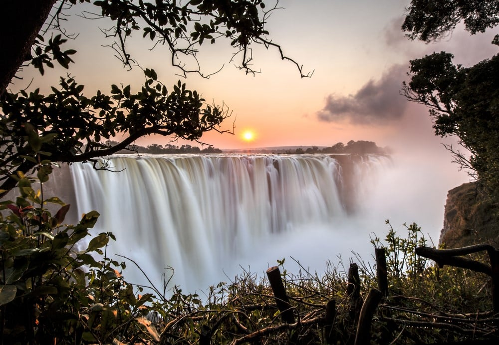 Most romantic places Victoria Falls, Zambia-Zimbabwe