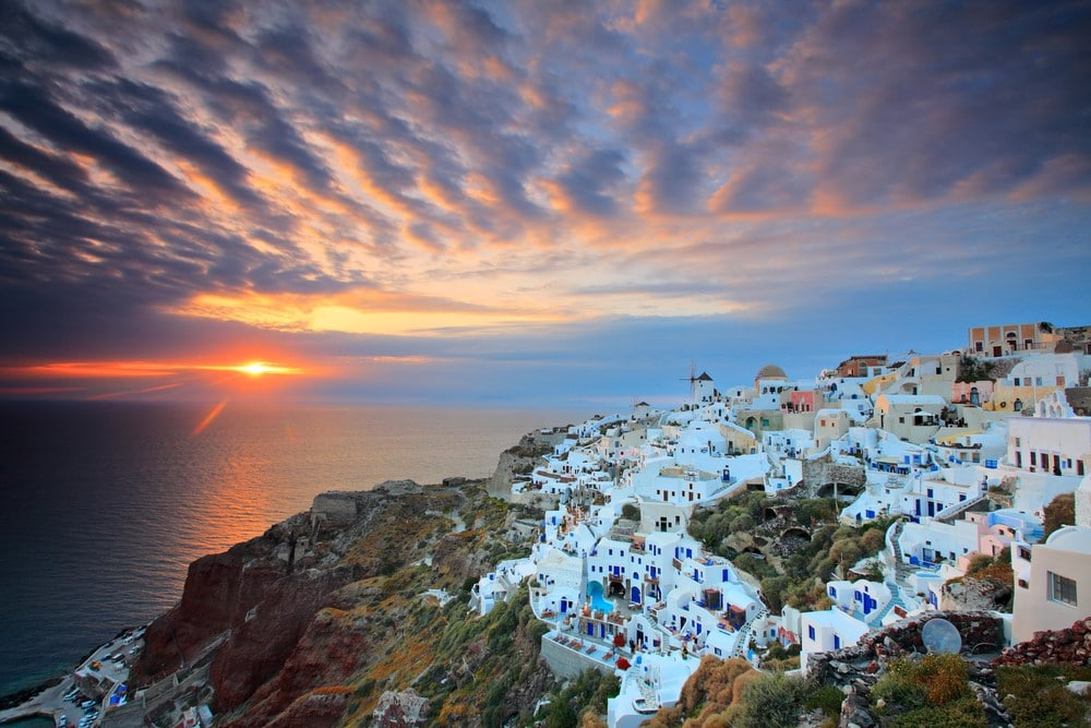 Places to travel on a budget Greece