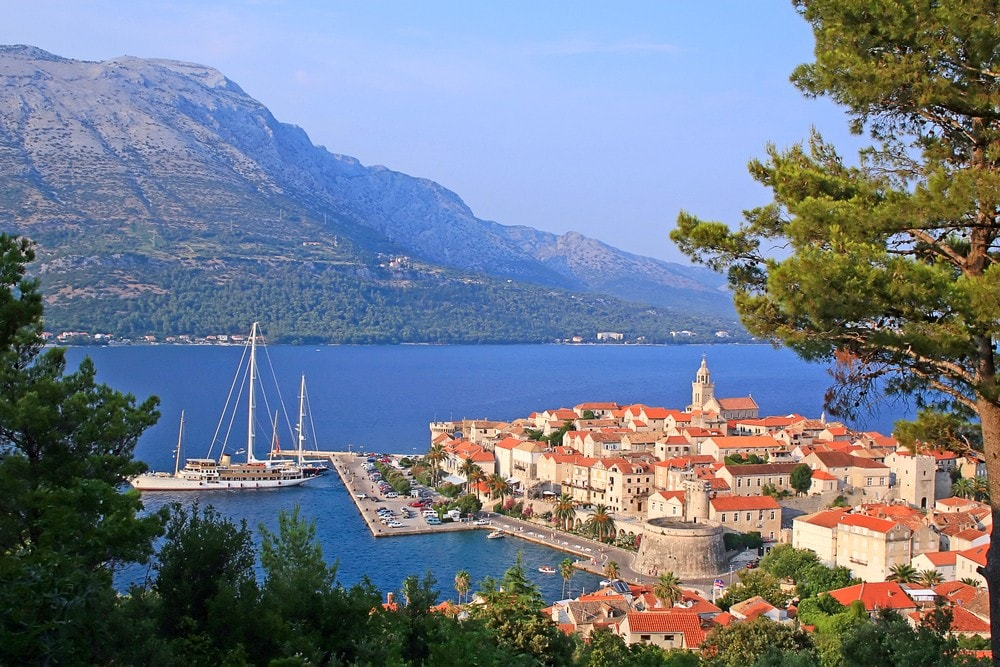 Top 16 Mediterranean Vacation Spots - Korcula