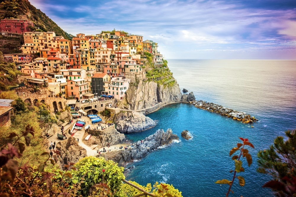 Top 16 Mediterranean Vacation Spots - Manarola