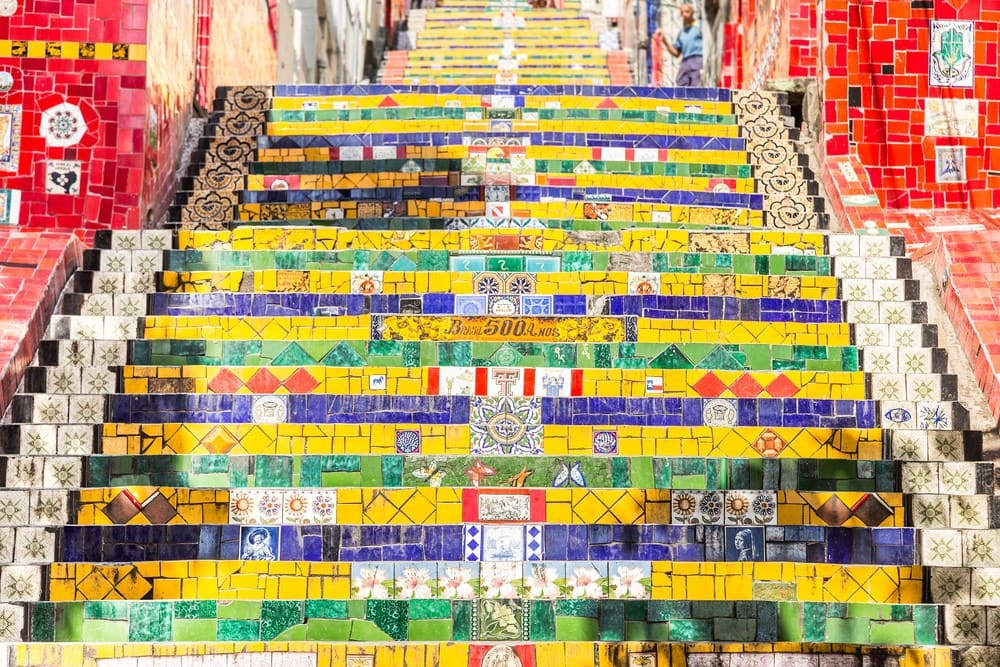 What to do in Rio de Janeiro Climb the colorful Lapa Stairs