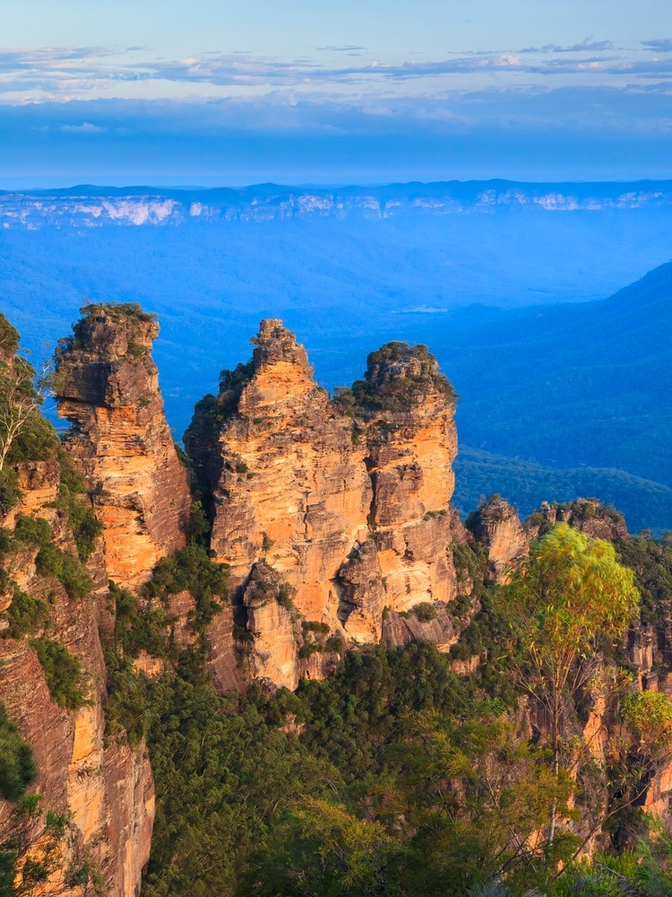 Places for introverts Blue Mountains, Australia