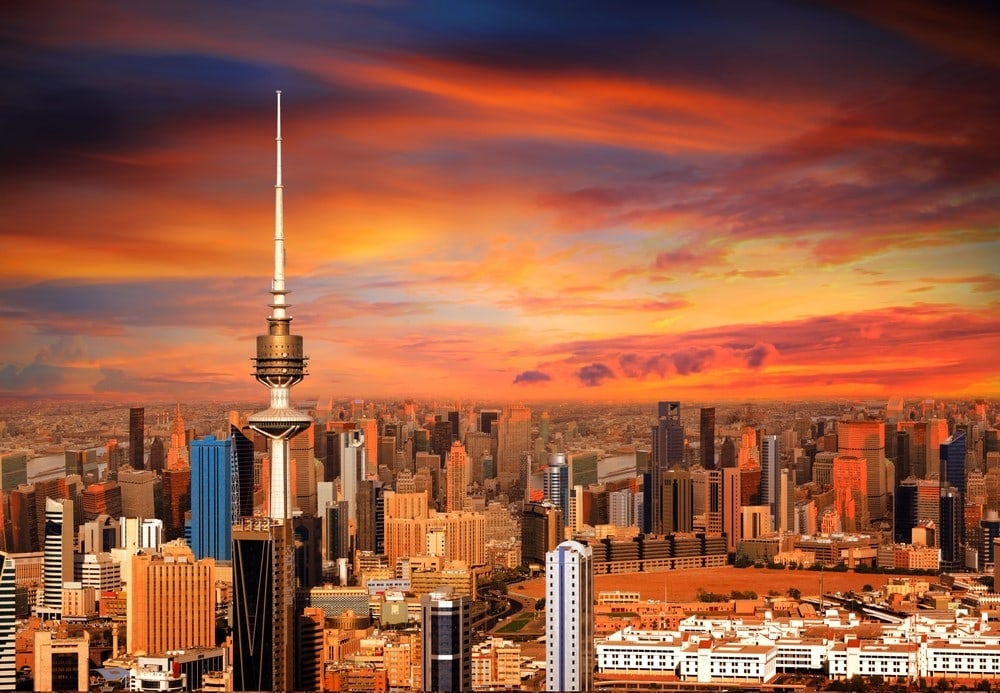 Warmest destinations Kuwait City, Kuwait