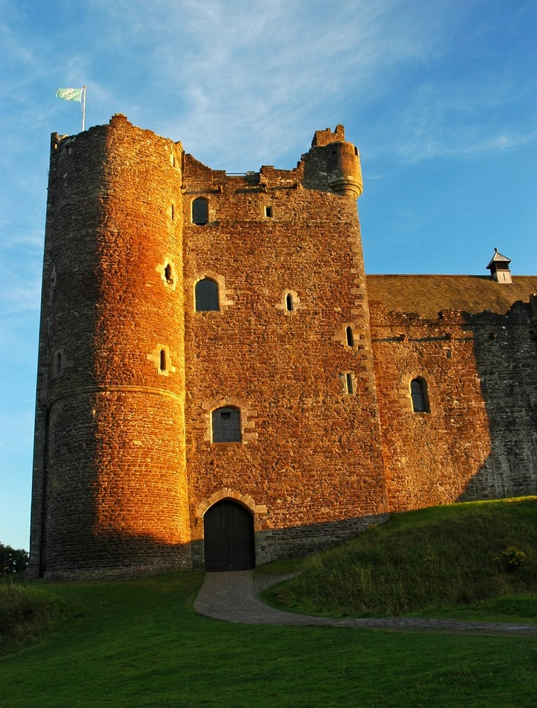 Destinations from films and TV Doune Castle, Scotland