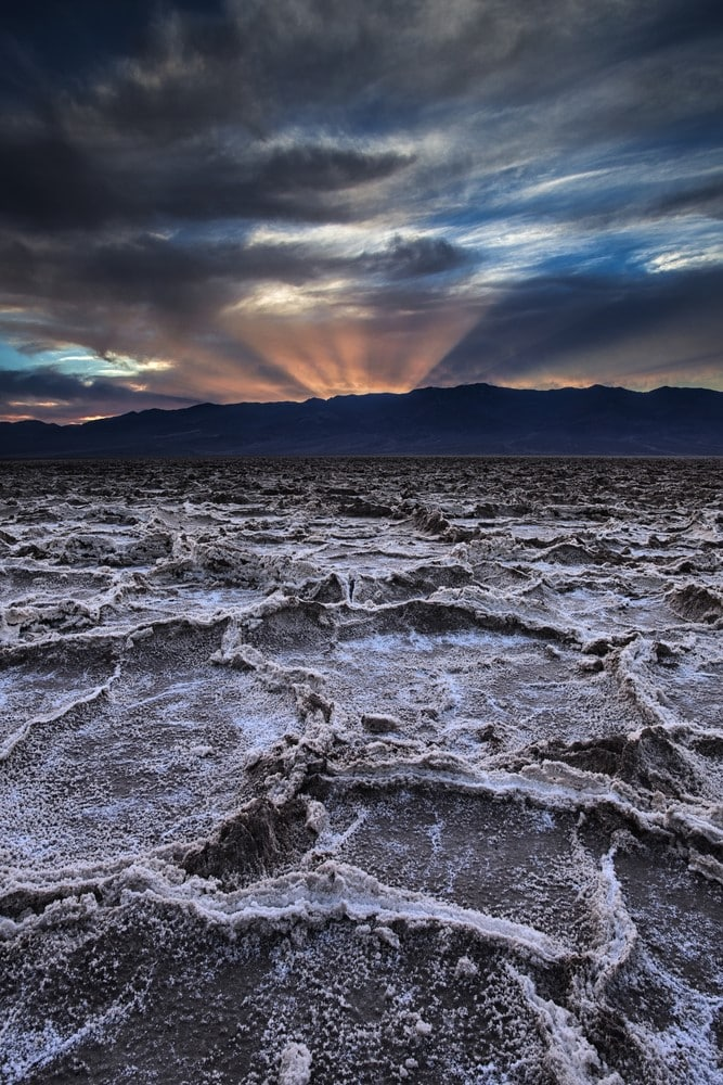 Warmest destinations Death Valley, California, USA