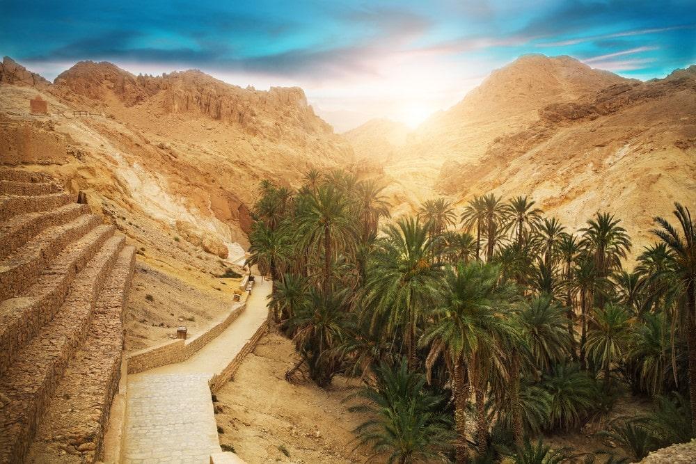 Warmest places Kebili, Tunisia
