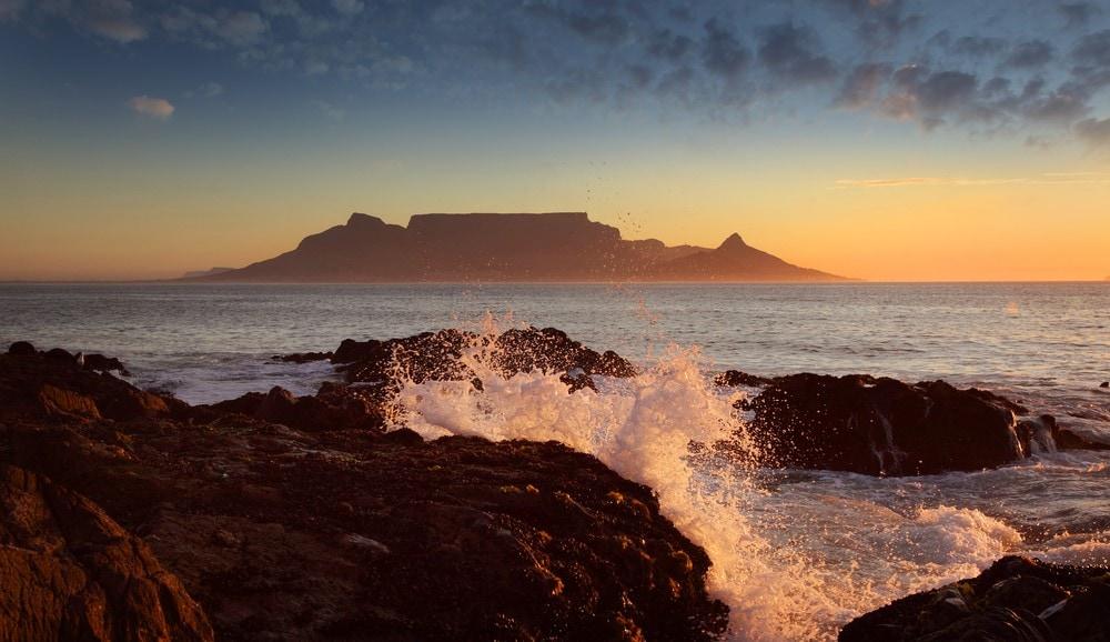 Warmest destinations Cape Town, South Africa