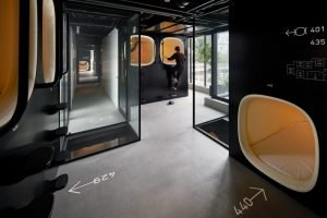 Capsule hotel selection