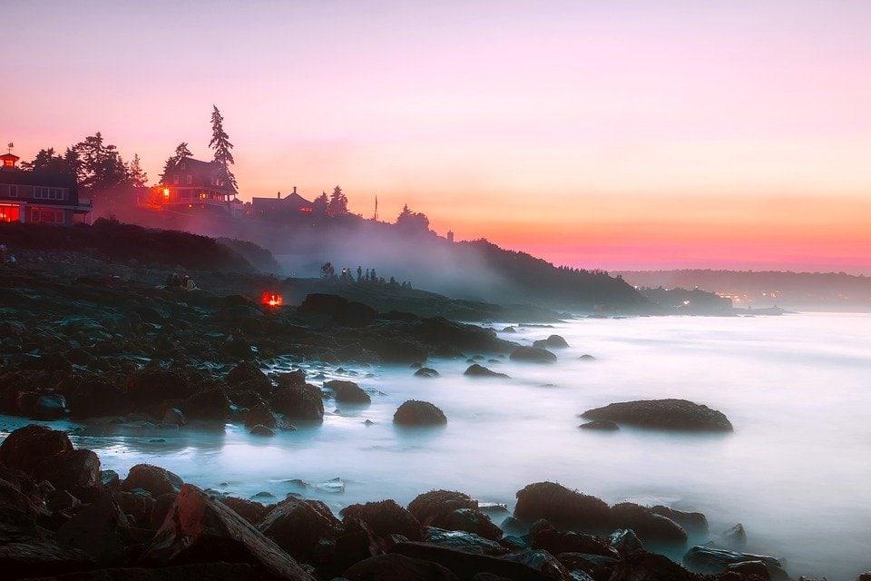 Ogunquit Rocky Coastline - Best Places to Visit in Maine