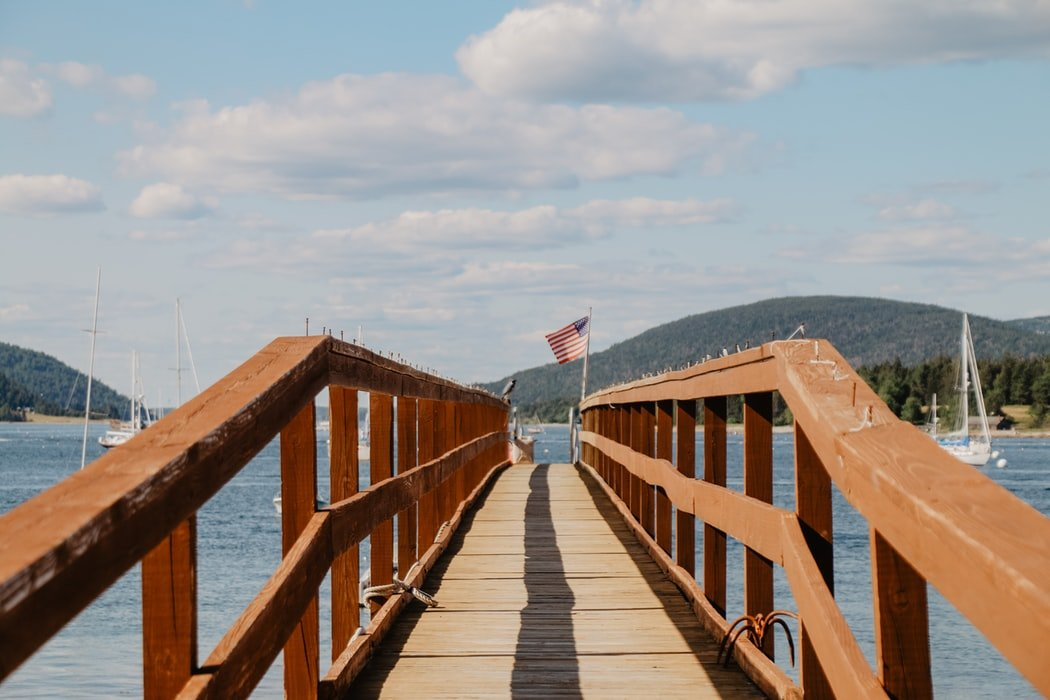 Pier in Bar Habor Maine - Best Places to Visit in Maine