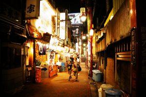 Golden Gai alley Tokyo