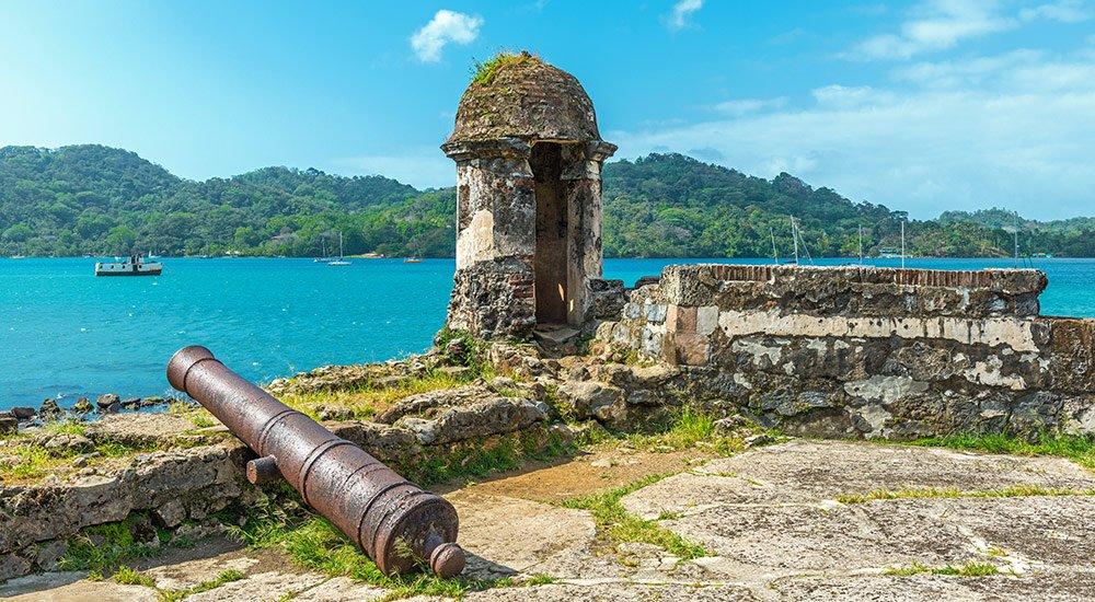 Isla grande fortress