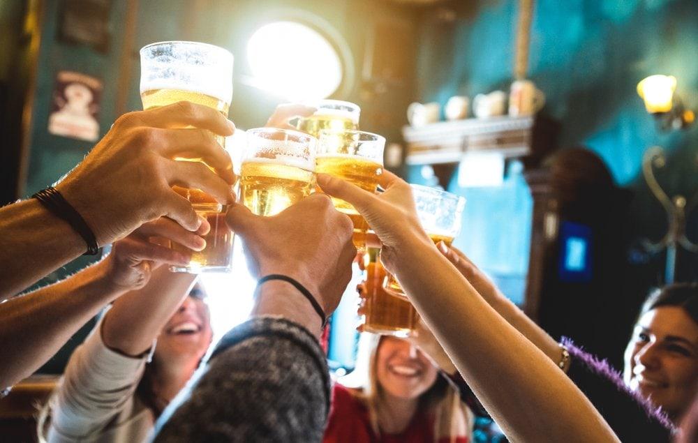 Bar cheers