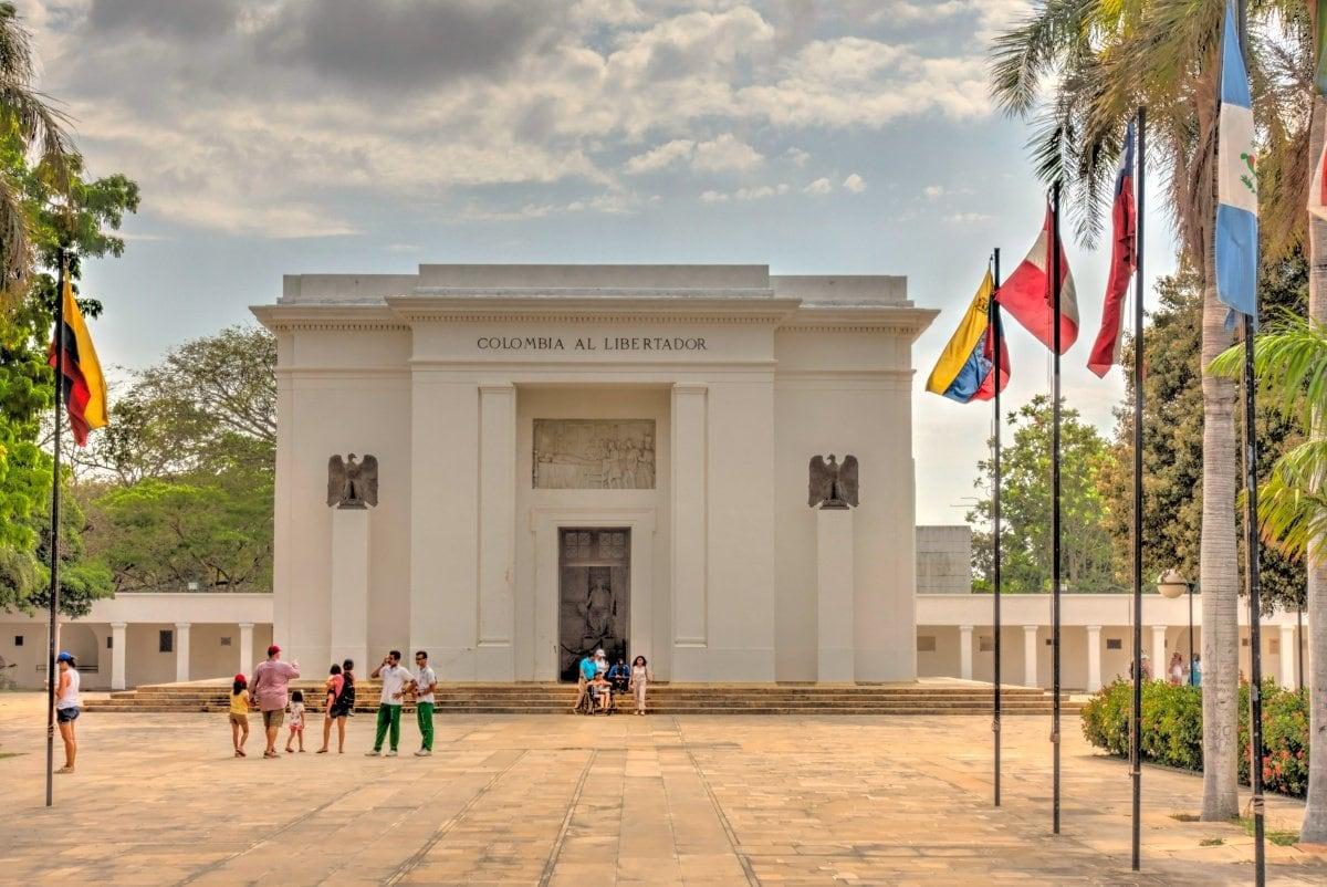 Quinta de San Pedro Alejandrino and Bolivar memorial Santa Marta Colombia